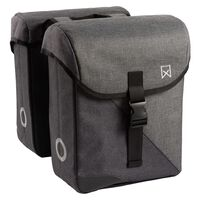 Willex Bicycle Panniers 800 24 L Grey and Black