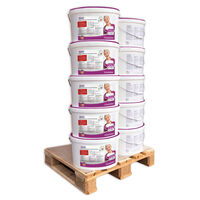 Profhome 300-13-10 Adhesive For Non Woven Wallpaper White