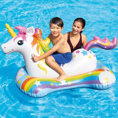 Intex Unicorn Ride-on 163x86 cm,