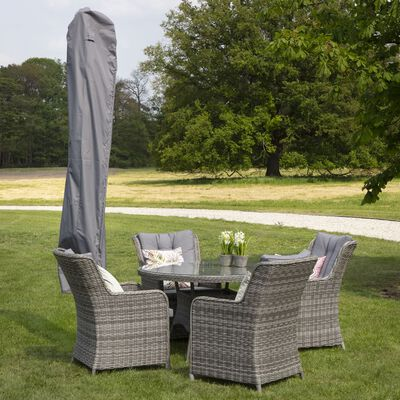 Madison Cover for Standing Parasol 165x35 cm Grey