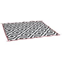 Bo-Camp Outdoor Rug Chill mat Lounge 2.7x2 m Black and White