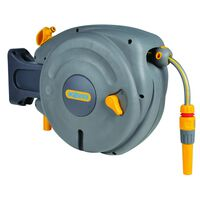 "Hozelock Wall Mounted Hose Reel with 10 m Hose ""Auto Reel"""