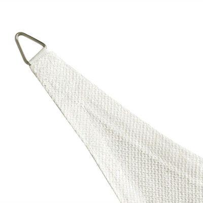 vidaXL Sunshade Sail HDPE Rectangular 2x4 m White