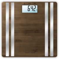 Medisana Body Analysis Scales BS 552 Connect Bamboo