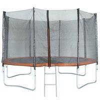 TRIGANO Trampoline with Safety Net 427 cm