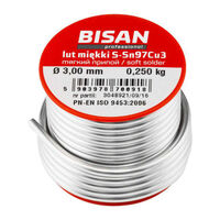 250g Lead Free Plumbers Solder Wire S-sn97cu3 2.5mm For Copper Pipe