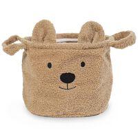 CHILDHOME Storage Basket Teddy 25x20x20cm Beige