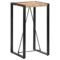 vidaXL Bar Table 60x60x110 cm Solid Mango Wood