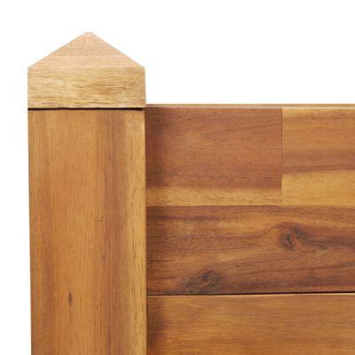 vidaXL Garden Raised Bed 160x60x44 cm Solid Acacia Wood