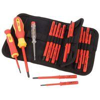 Draper Tools 18 Piece Voltage Tester & Insulated Screwdriver Set 05776