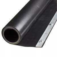 Nature Root Barrier Sheet 0.7 x 3 m HDPE Black 6030226