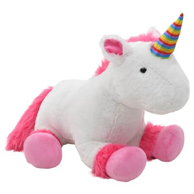 Playtime will be a lot more fun for your child with this lifelike unicorn cuddly toy!