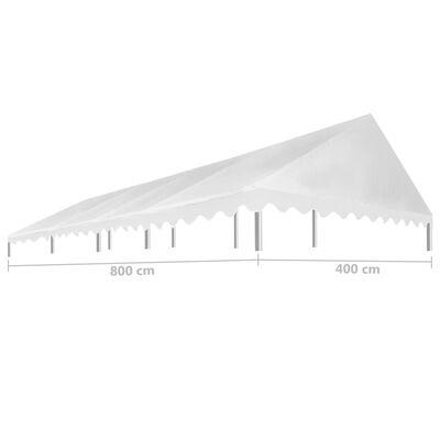 vidaXL Party Tent Roof 4x8 m White 450 g/m²