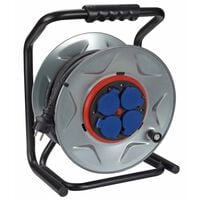 420382 Perel Professional Cable Reel with 40 m Neoprene cable Silver ECR40NP25A-G (will not purchase)