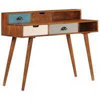 vidaXL Writing Desk 110x50x90 cm Solid Acacia Wood