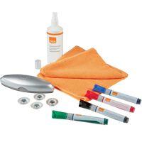 nobo Glass Whiteboard Starter Kit