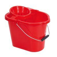 Robert Scott Red Mop Bucket & Wringer - 1x12ltr