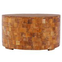 vidaXL Coffee Table 60x60x35 cm Solid Teak Wood
