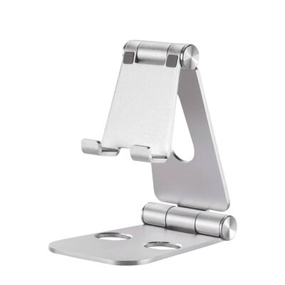 NewStar Foldable Mobile Phone Stand 7 Silver