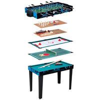 Van der Meulen 10-in-1 Multi-Game Table 107x61x80 cm