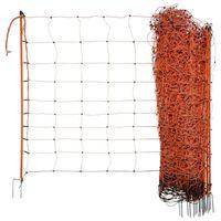 Neutral Electrifiable Sheep Net OviNet 90cm Orange