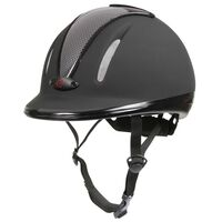 Covalliero Riding Helmet Carbonic VG1 S/M Anthracite 32721