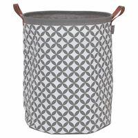 Sealskin Laundry Basket Diamonds Grey 60 L 362302012