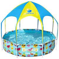 Bestway Steel Pro UV Careful Above Ground Pool for Kids 244x51 cm