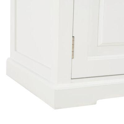 vidaXL TV Cabinet White 120x30x40 cm Wood