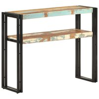 vidaXL Console Table 90x30x75 cm Solid Reclaimed Wood