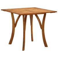 vidaXL Garden Table 201.5x100x75 cm Solid Acacia Wood