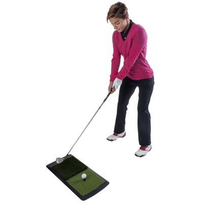 Pure2Improve Golf Hitting Mat 60x31x6.5 cm P2I641690