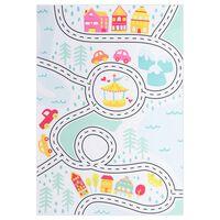 vidaXL Printed Rug Multicolour 120x160 cm Fabric
