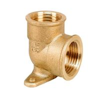 1/2 Inch Elbow Backplate Pipe Fitting Connection Female Back Plate