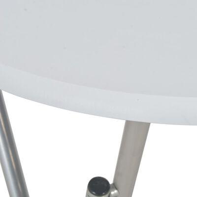 vidaXL Bar Table White 60x112 cm MDF