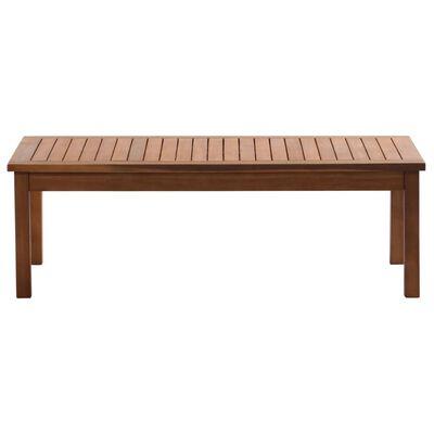 vidaXL 4 Piece Garden Lounge Set Solid Acacia Wood