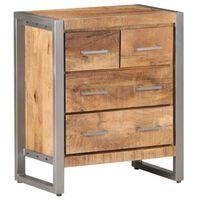 vidaXL Sideboard 60x35x70 cm Rough Mango Wood
