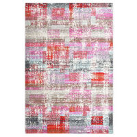 vidaXL Rug Multicolour 140x200 cm PP