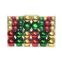 Christmas Balls 100 pcs Red/Gold/Green