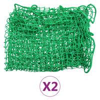 vidaXL Trailer Nets 2 pcs 2.5x4 m PP