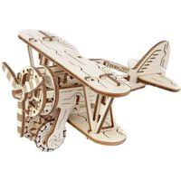 WOODEN CITY Wooden Scale Model Kit Biplane