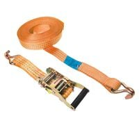 ProPlus Tie Down Strap with Ratchet + 2 Hooks 8 m 3000 kg 320264
