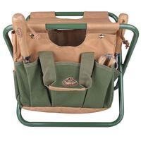 Esschert Design Garden Tool Bag and Stool GT01