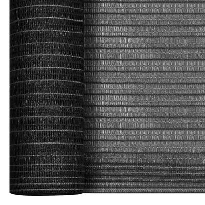 vidaXL Privacy Net Anthracite 1.8x25 m HDPE 75 g/m²