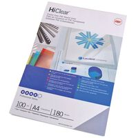 GBC Binding Cover Set HiClear A4 150 Microns