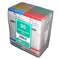Robinson Young Bar Food Order Pads/Number Slip - 20 x 20