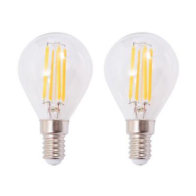 vidaXL Ceiling Lamp with 2 LED Filament Bulbs 8 W