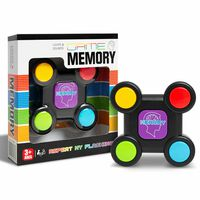 Memory Game Light & Sound Sequence Remember Challenge
