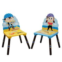 Fantasy Fields Childrens Kids Toddler Wooden 2 Chair Set (no table) TD