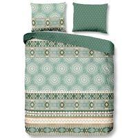 Good Morning Duvet Cover PITRI 140x200/220 cm Green